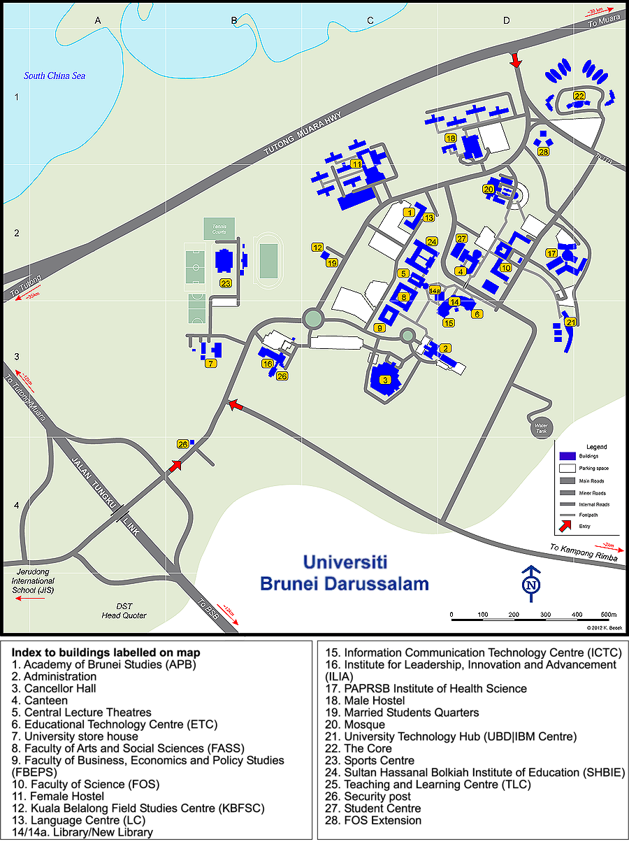 Walsh Campus Map.Campus Map